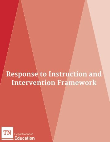Response to Instruction and Intervention Framework