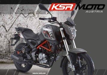KSR MOTO Katalog 2017 deutsch