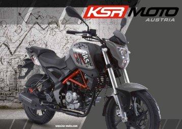 KSR MOTO Catálogo 2017 español
