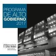 2017 PROGRAMA DE ALTO GOBIERNO
