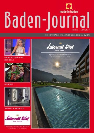 Baden Journal Februar - April 2017