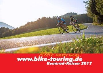 Rennrad Reisen bike-touring.de 2017