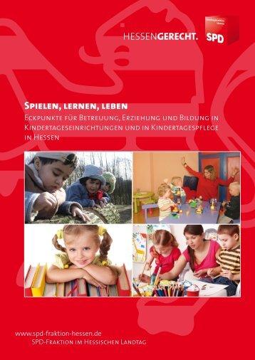 Spielen, lernen, leben - Habermann, Heike