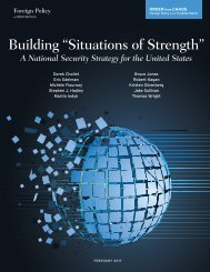 """Building """"Situations of Strength"""""""