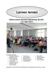 ELSA Workshop 2011: