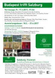 Salzburg Visionen 2017