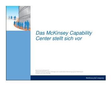 MCC Klientenbroschüre - McKinsey Capability Center - McKinsey ...