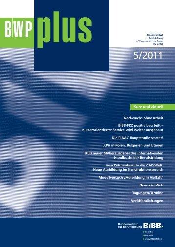 BWP 5/2011 Kompetenz - Berlin-Institut für Bevölkerung und ...