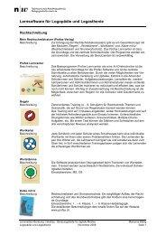 Lernsoftware für Logopädie und Legasthenie - Imedias