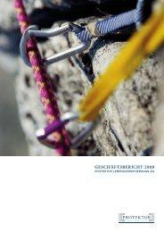 GESCHÄFTSBERICHT 2008 - Protektor Lebensversicherungs-AG