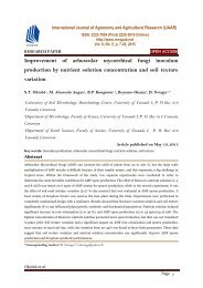 Improvement of arbuscular mycorrhizal fungi inoculum production by nutrient solution concentration and soil texture variation