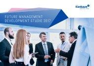 FUTURE MANAGEMENT DEVELOPMENT STUDIE 2017