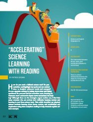 """""""Accelerating"""" Science Learning With Reading"""