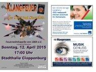 Inhalt Konzert 2015