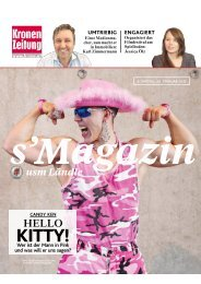 s'Magazin usm Ländle, 26. Februar 2017