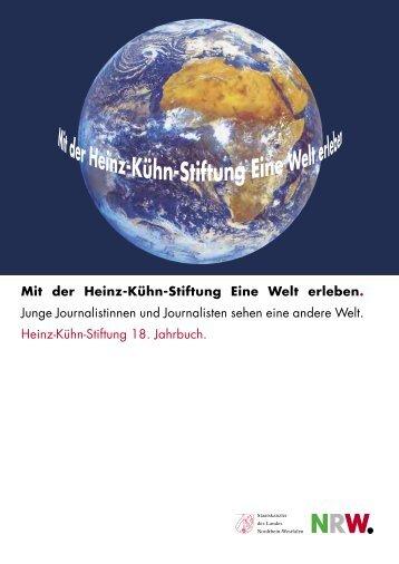 Mit der HeinzKühnStiftung Eine Welt erleben . Junge ...