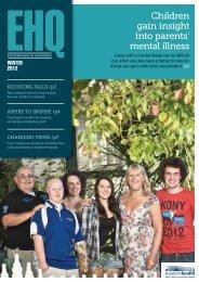 Children gain insight into parents' mental illness - Eastern Health