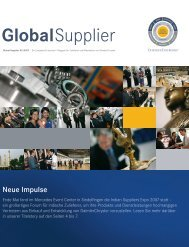 Download Global Supplier Magazin [Ausgabe 02/2007] - Daimler
