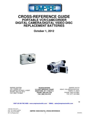 The Trawler Cross Reference Guide  In The Year