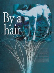 A simple DNA test using mane or tail hair ... - Paint Horse Journal