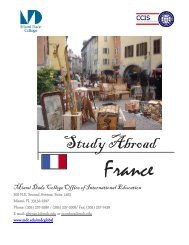 study abroad in France - Miami Dade College