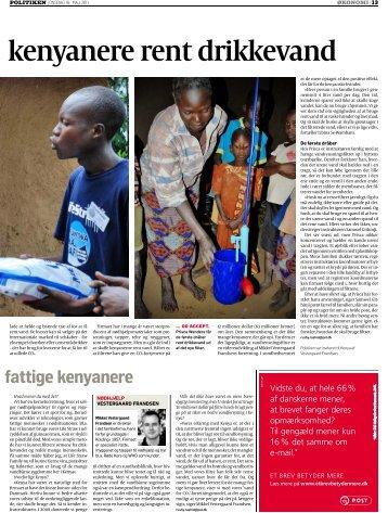 kenyanere rent drikkevand - Vestergaard Frandsen