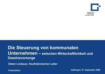 3. Steuerung des MEHR-WERT Clusters Wirtschaftlichkeit