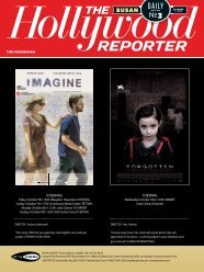 DAILY №3 - The Hollywood Reporter