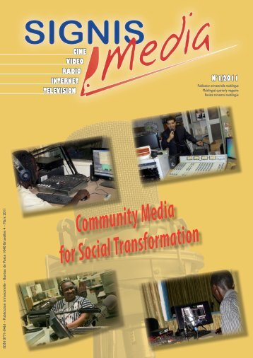 SIGNIS Media 1/2011.pdf - Commonwealth of Learning