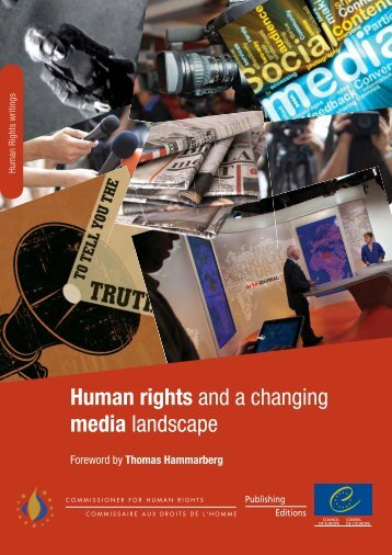 Human rights and a changing media landscape - 404 Page not found