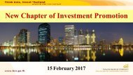 New Chapter of Investment Promotion