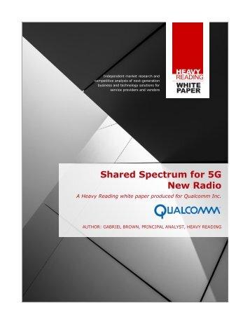 Shared-Spectrum-for-5G-New-Radio