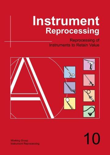 Instrument Reprocessing