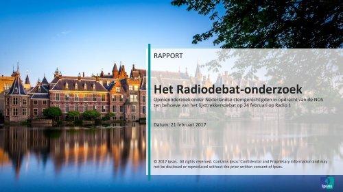 Het Radiodebat-onderzoek