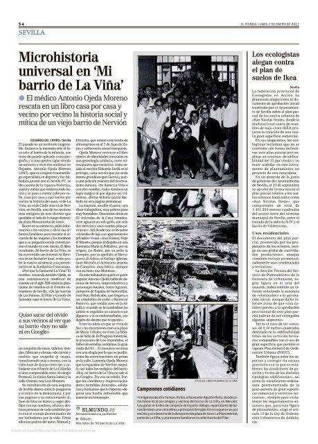 Artículos 2012 en El Mundo de Eduardo del Campo