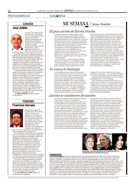 Artículos 2010 en El Mundo de Eduardo del Campo