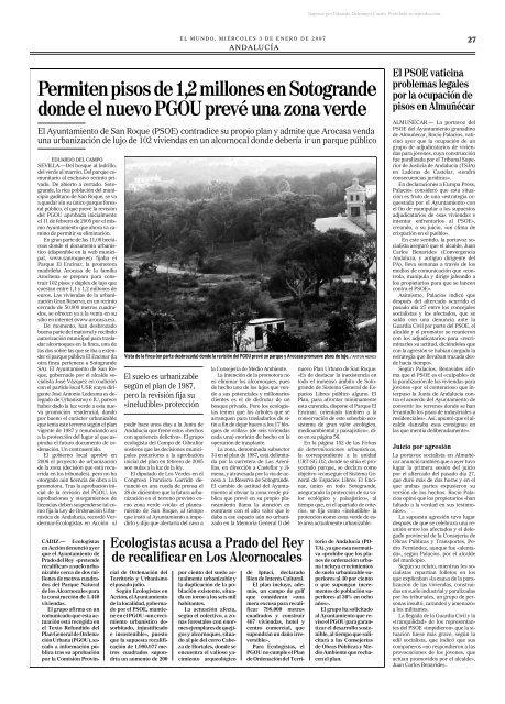 Artículos 2007 en El Mundo de Eduardo del Campo