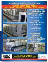 Castlereagh 8pager - Thomas Industries