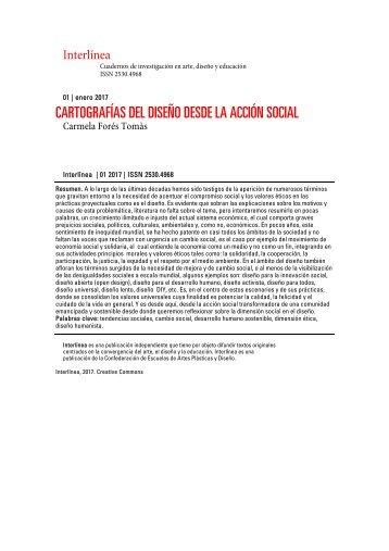 CARTOGRAFÍAS DEL DISEÑO DESDE LA ACCIÓN SOCIAL