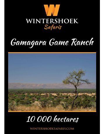 Gamagara Safari Lodge   South Africa