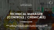 (CONTROLS / CHEMICALS)