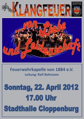 Inhalt Konzert 2012