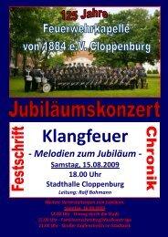 Inhalt Konzert 2009