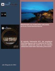 e-AN N° 18 nota N° 1 Diseñando con materiales naturales por el arq. Carlos Sánchez Saravia