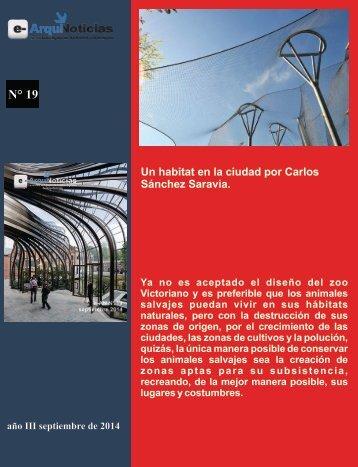 Un habitat en la ciudad por Carlos Sánchez Saravia