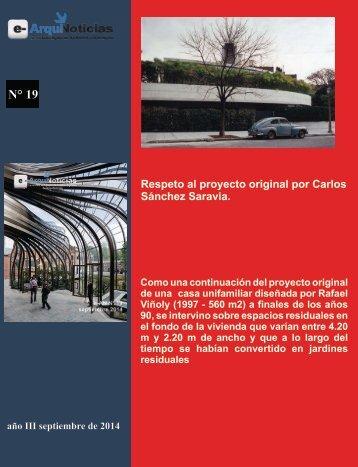 Respeto por el proyecto original por Carlos Sánchez Saravia