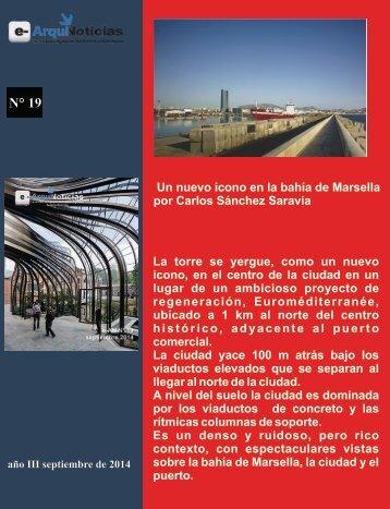 Un nuevo icono en la bahía de Marsella por Carlos Sánchez Saravia