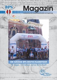 die grosse bps-deutschlandtour - Bundesverband Prostatakrebs ...