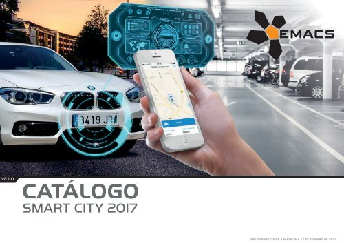 Catálogo Smart City 2017 – versión 2.1.0 (EUR – FOB Madrid)