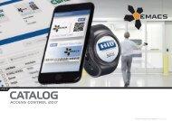 Access Control Catalog 2017 - version 4.5.3 (EUR – FOB Madrid)